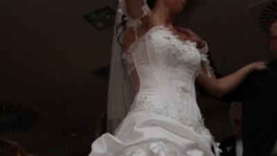 Szczęśliwa suknia ślubna