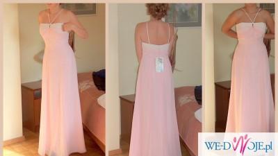 Szyfonowa suknia  Jasmine do przebrania dla panny młodej - NOWA!