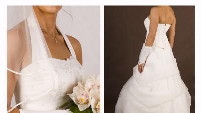 Tania oryginalna suknia ślubna