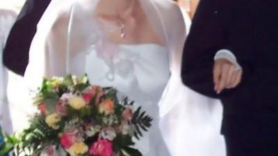 Tania śliczna suknia ślubna