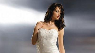 Tanio piękna i skromna suknia slubna
