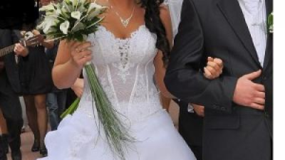 Tanio!  Piękna Suknia ślubna
