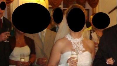 Tanio. śliczna suknia ślubna