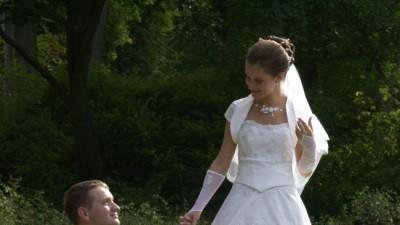 Tanio sprzedam śliczną suknię ślubną(mały rozmiar)