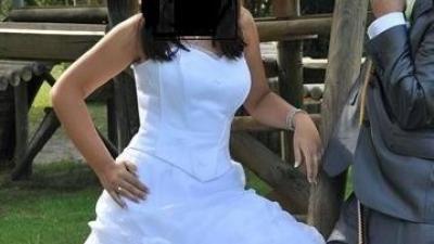 TANIO sprzedam śliczną suknię slubną roz.38-40