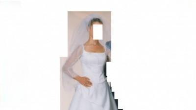 TANIO sprzedam suknię ślubną rozmiar 38/170 cm