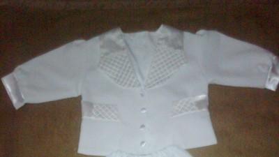 tanio sprzedam  ubranko na chrzest dla chłopca roamiar 68 +buciki