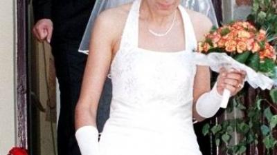 Tanio - suknia ślubna + dodatki