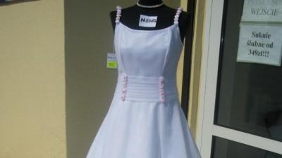 Tanio!!!suknia ślubna NOWA!!!