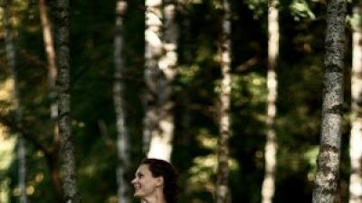 Tiulowa suknia ślubna Princessa roz. 38
