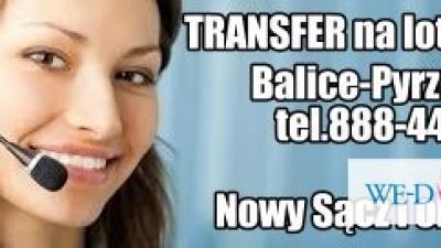 Transfer na lotnisko Kraków-Balice
