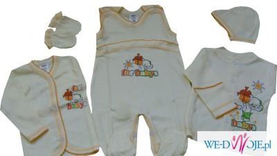 Ubranka dziecięce, bielizna niemowlęca