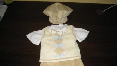 Ubranko do chrztu dla chłopca rozm. 68