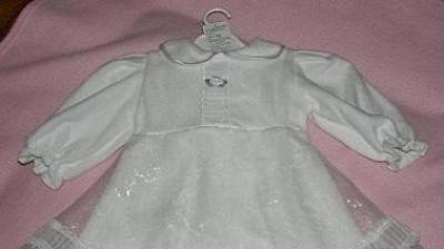 Ubranko do chrztu, dla dziewczynki, rozmiar 74