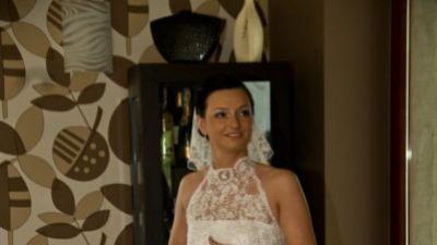 Unikatowa suknia ślubna w stylu hiszpańskim