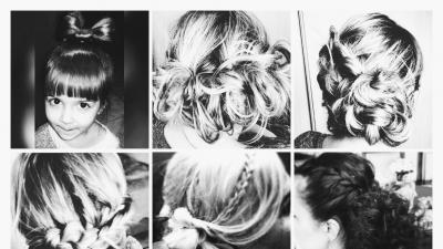 upięcia, modelowanie, zagęszczanie i przedłużanie włosów oraz makijaż