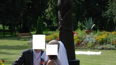 Urocza Suknia Ślubna ...biała, rybka nie drogo -dodatki GRATIS !!!