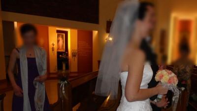 Urokliwa suknia ślubna z kolekcji Celise