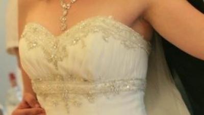 Urzekająca suknia ślubna - wzr.180cm rozm. 40/44