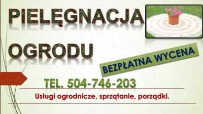 Utrzymanie ogrodów Wrocław, cennik, tel 504-746-203, pielęgnacja ogrodu, Pielenie działki, grządki. Usuwanie chwastów. Przycinanie drzew owocowych. Cięcie pielęgnacyjne i sanitarne krzewów. usługi ogrodnicze.