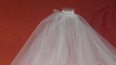 Welon biały z kryształami svarowskiego