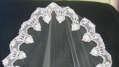 WELON HISZPAŃSKI  MANTILLA do sukni pronovias!