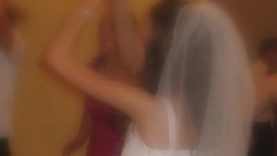 Welon ślubny krótki i długi biały