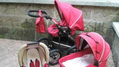 Wielofunkcyjny wózek Mikrus alu sprint 3 w 1