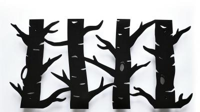 Wieszaki dekoracyjne ścienne drzewo