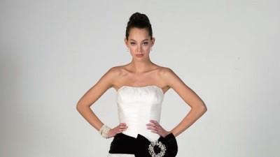 wiktoriańska suknia ślubna Justin Alexander
