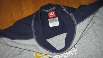 WILSON firmowa bluzka do szkoły z USA rozm.L