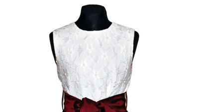 Wizytowa sukienka dziewczęca Ewa II