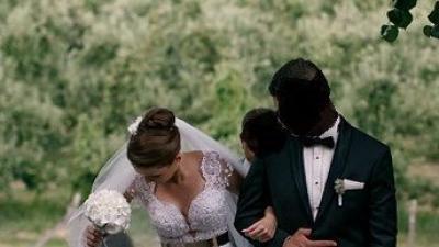 Włoska suknia ślubna + długi welon, rozm. 36, kolor: ivory