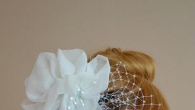 Woalka ślubna z kwiatami, od projektantki!
