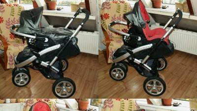 Wózek Casualplay S4 i fotelik samochodowy PrimaEasy z pełnym wyposażeniem!