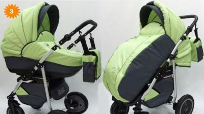 Wózek dziecięcy 2w1 GRATIS fotelik samochodowy500zl
