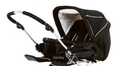 Wózek dzieciecy dla Bliźniakow EMMALJUNGA