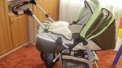 Wózek dziecięcy dwufunkcyjny
