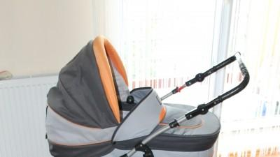 Wózek dziecięcy gondola spacerówka nosidło 3 w 1