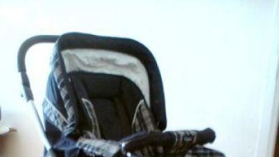 Wózek Emmaljunga City Cross 2 w 1 (spacerówka z gondolą)