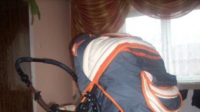 Wózek głęboko-spacerowy Baby Lux.Abdor prawie nieużywany