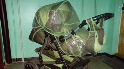 Wózek głęboko-spacerowy firmy ADBOR
