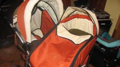 wózek głęboko-spacerowy firmy Kadex model Piko.