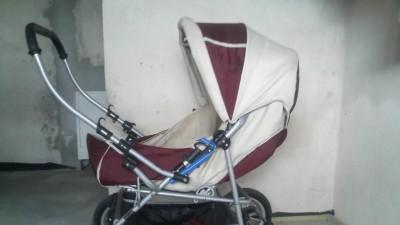 Wózek gleboko-spacerowy Mikado