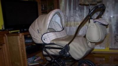 Wózek (Gondola + spacerówka + fotelik samochodowy) Roan Marita