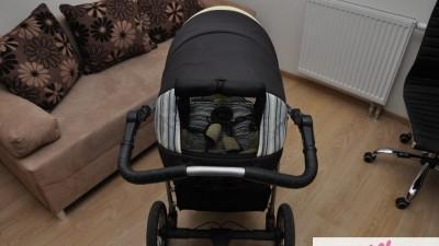 Wózek JEDO 4DS, 3w1 + śpiworek, torba, folia