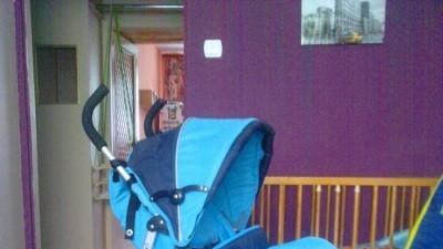 wózek spacerowu Baby Smile Leo - parasolka
