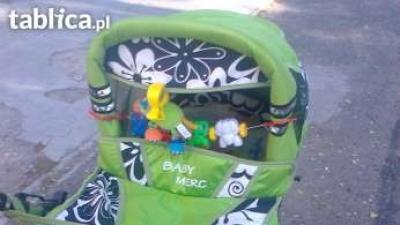 Wózek wielofunkcyjny Baby Merc S3 + fotelik samochodowy