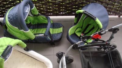 Wózek wielofunkcyjny BEBETTO VULCANO 8w1