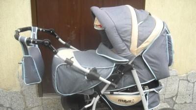 wózek wielofunkcyjny + fotelik samochodowy